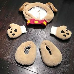 Puppy dog costume . 2t-3t